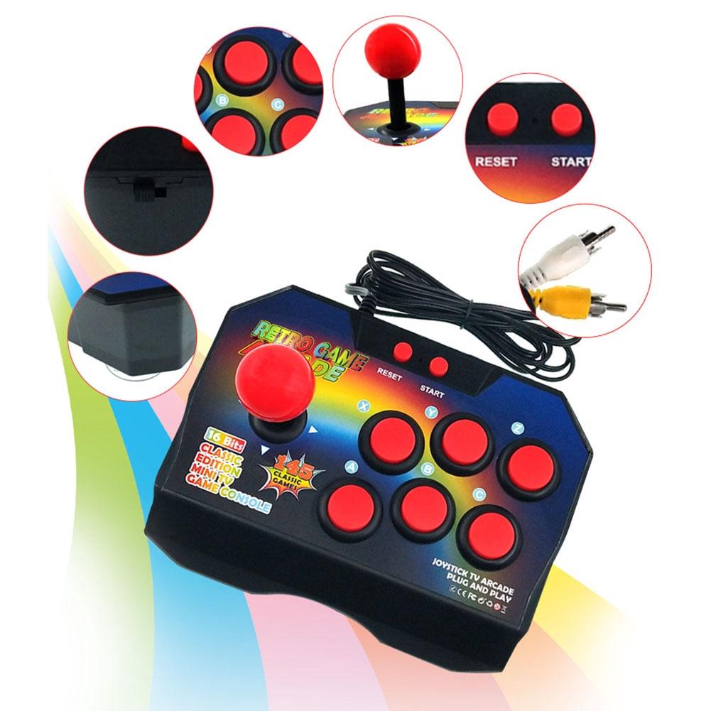 Gift Mini 16 Bit Portable Classic Handheld Retro Children Fun Game Console