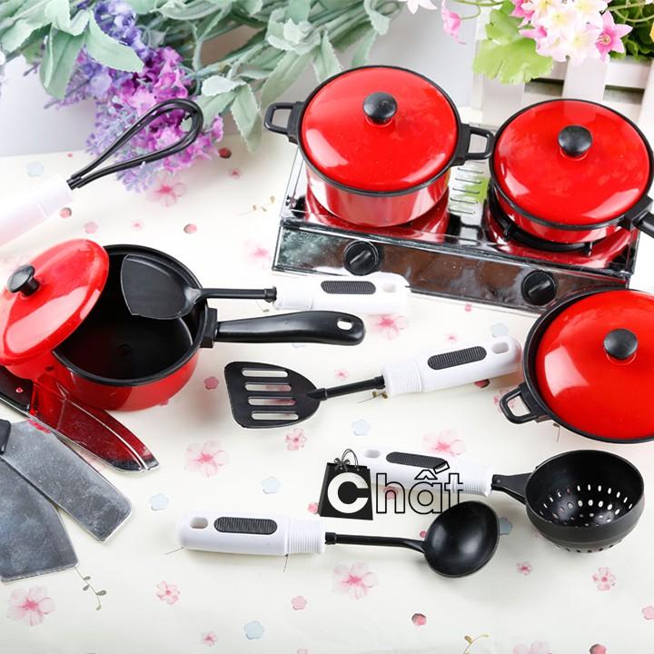 Vỉ đồ chơi nấu ăn 13 món mô phỏng như thật cho bé yêu chơi và học làm bếp