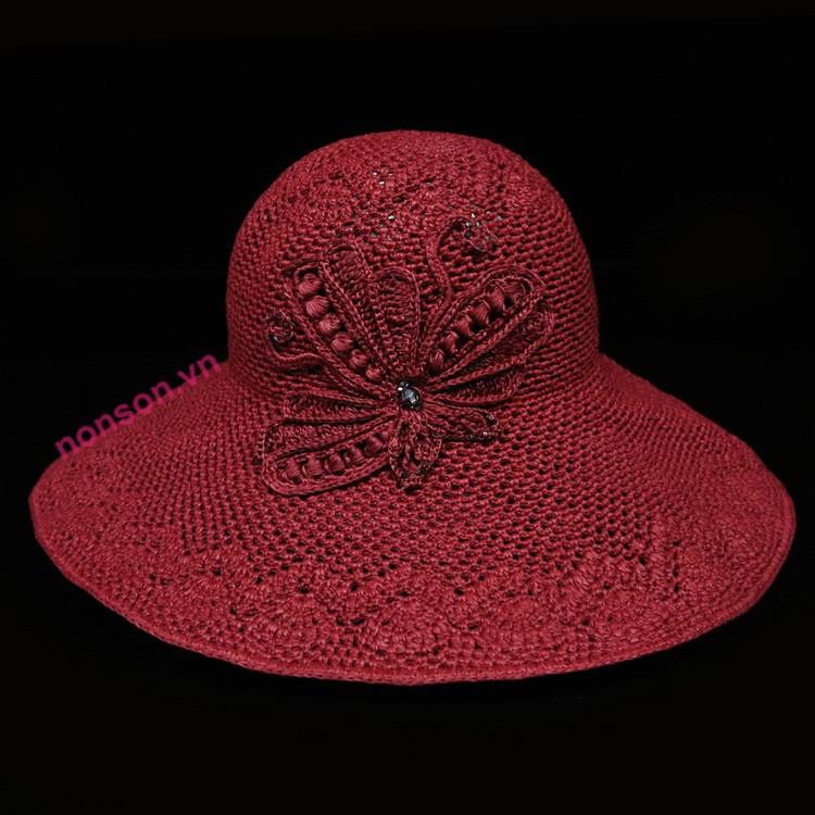Nón Sơn mũ đan tay DH100-DO2
