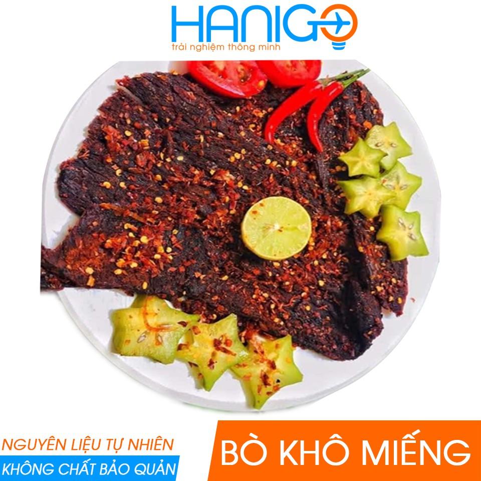 Đặc Sản Bò Khô Miếng Đà Nẵng- 100% Thịt Bò Tươi- Gia Vị Tự Nhiên- Không Hóa Chất- Bò Khô Miếng Ngon Sạch HANIGO FOOD