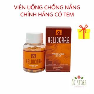 Viên uống chống nắng Heliocare Chính Hãng Heliocare Oral 60 viên thumbnail