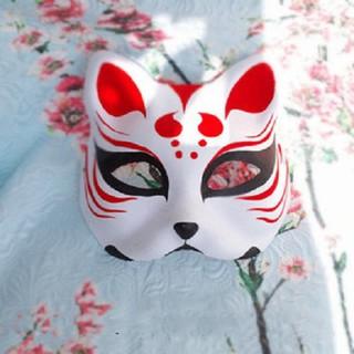 Mặt nạ mèo vẽ_02 (Mask fox-cosplay)