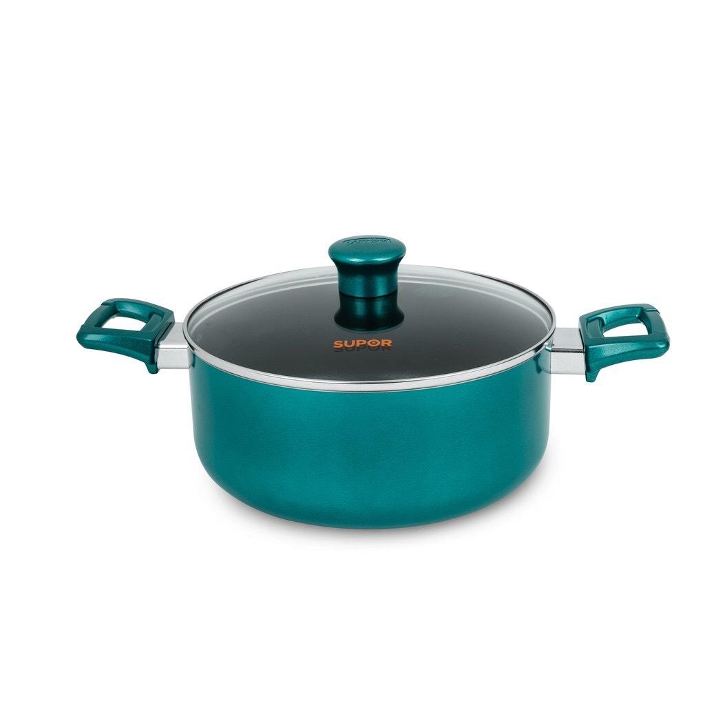 Nồi chống dính sử dụng bếp từ Supor size 18-20-24-28cm