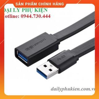 [Mã ELFLASH5 giảm 20K đơn 50K] Dây nối dài cổng USB 3.0 2m dẹt UGREEN 10808 dailyphukien