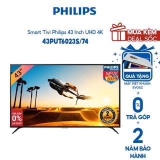 Smart Tivi Philips 43 Inch UHD 4K 43PUT6023S 74 - Hàng Chính Hãng - Miễn phí lắp đặt thumbnail