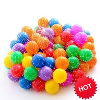 (ẢNH TỰ CHỤP) Túi 100 quả bóng nhựa cho bé vui chơi