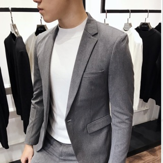 Áo vest nam màu xám cao cấp