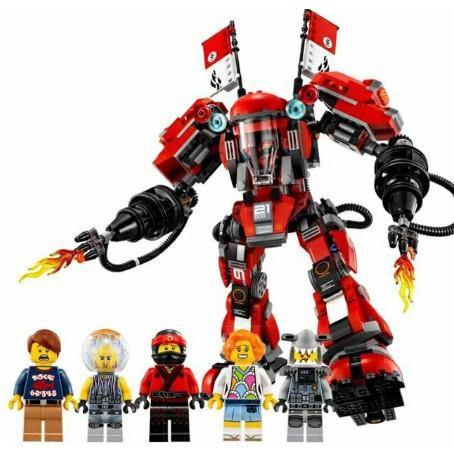 Xếp Hình Lego Ninja Movie. Chiến Binh Người máy SAMURAI Khổng Lồ của KAI. Gồm 980 Chi Tiêt.