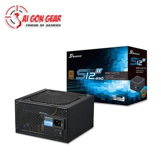 Nguồn Máy Tính SeaSonic S12III 500W 550W 650W thumbnail