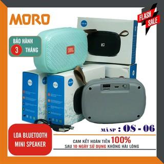 [Mã ELFLASH5 giảm 20K đơn 50K] Loa Bluetooth mini speaker OS – 06 - Hàng nhập khẩu