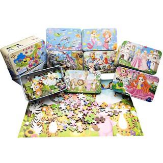 Đồ chơi Tranh ghép gỗ Puzzle 60-100-200 chi tiết, 4 cấp độ - Đồ chơi phát triển trí tuệ, dành cho bé từ 3 tuổi thumbnail