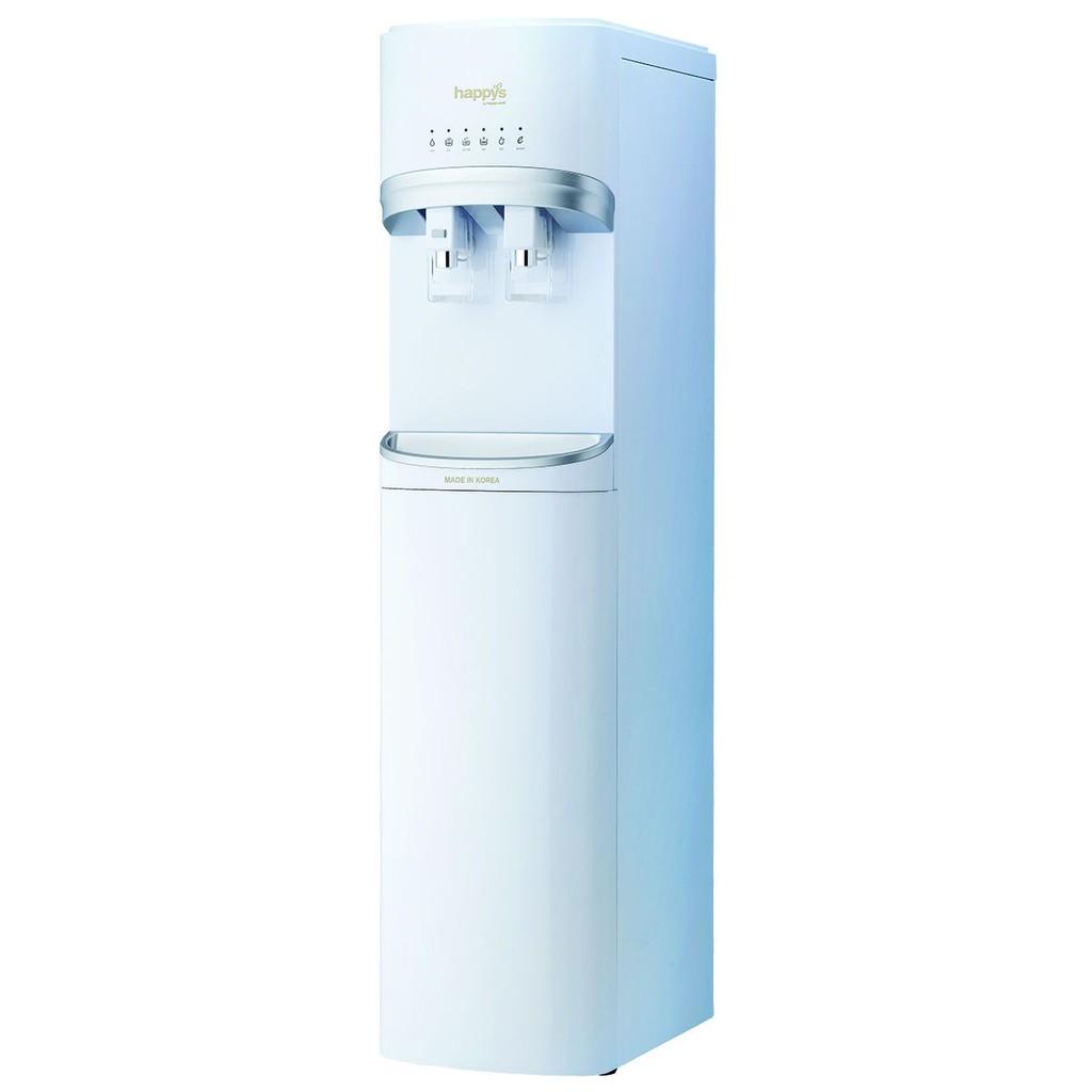 Máy lọc nước nóng lạnh Hàn Quốc 4 lõi 300W Happy Cook HB-680UF WHITE