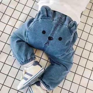 Quần jean tai gấu