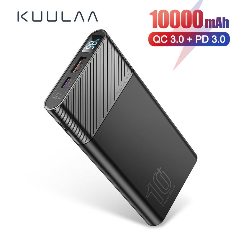 Sạc dự phòng KUULAA 10000mAh PD 18W dành cho iPhone 11 Pro Ipad Samsung Huawei iphone X Androidroid