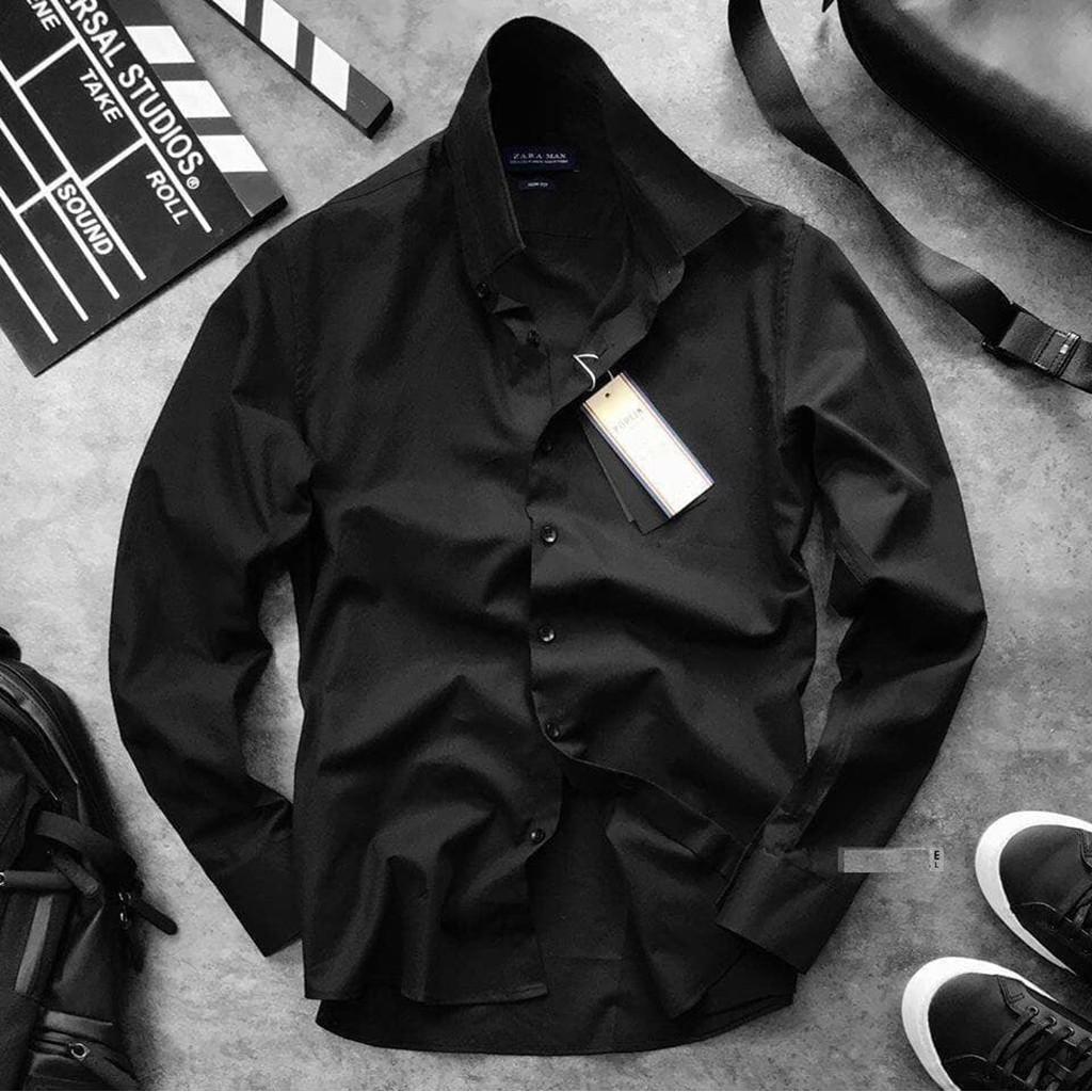 Sơ mi nam đẹp công sở thời trang cao cấp hàng vnxk chất vải dày dặn ôm dáng slimfit