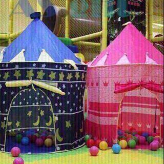 Chiếc lều công chúa hoàng tử mang hình lâu đài – LCC130027
