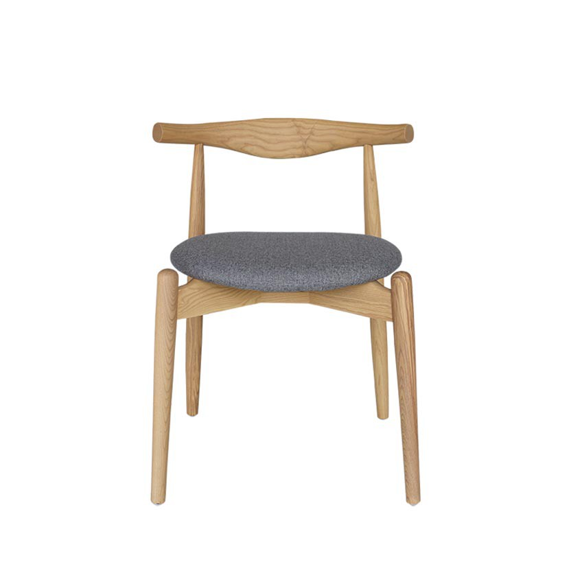 Ghế gỗ Furnist Bull R tròn | Shopee Việt Nam