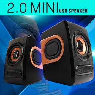 Bộ 2 Loa Nghe Nhạc Máy Vi Tính Stereo Mini Q3 Để Bàn Âm Thanh Siêu Trầm Hỗ Trợ USB 2.0 Dùng Cho Điện Thoại PC Laptop thumbnail