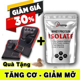 COMBO 2 túi Sữa Tăng Cơ Giảm Mỡ – Whey Protein Isolate NZMP (Tặng găng tay tập gym)
