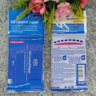 Giấy thấm dầu mayan oil control paper ( hàng chuẩn) thumbnail
