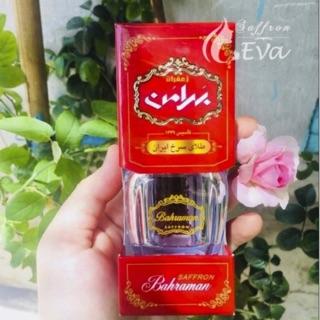 Saffron Negin Iran Chính Hãng Thương Hiệu Bahraman (hộp dài)/ loại 1gr