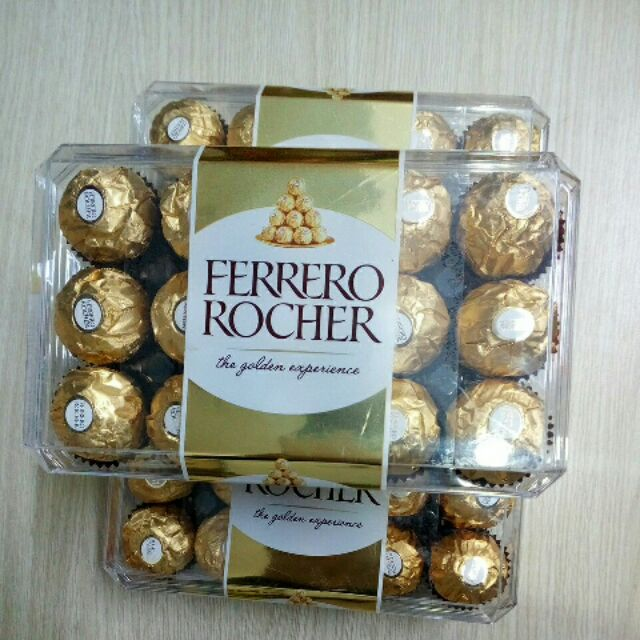 Kẹo Socola Ferrero Rocher 375g - 3466416 , 832287321 , 322_832287321 , 295000 , Keo-Socola-Ferrero-Rocher-375g-322_832287321 , shopee.vn , Kẹo Socola Ferrero Rocher 375g