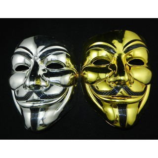 MẶT NẠ HÓA TRANG HACKER anonymous đủ màu cao cấp hàng chính hãng sku sp NR5204 Gmã ED