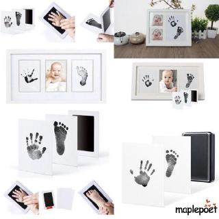 ♪TY★Newborn Baby Handprint Footprint Safe Print Ink Pad Non Toxic Keepsake Gifts