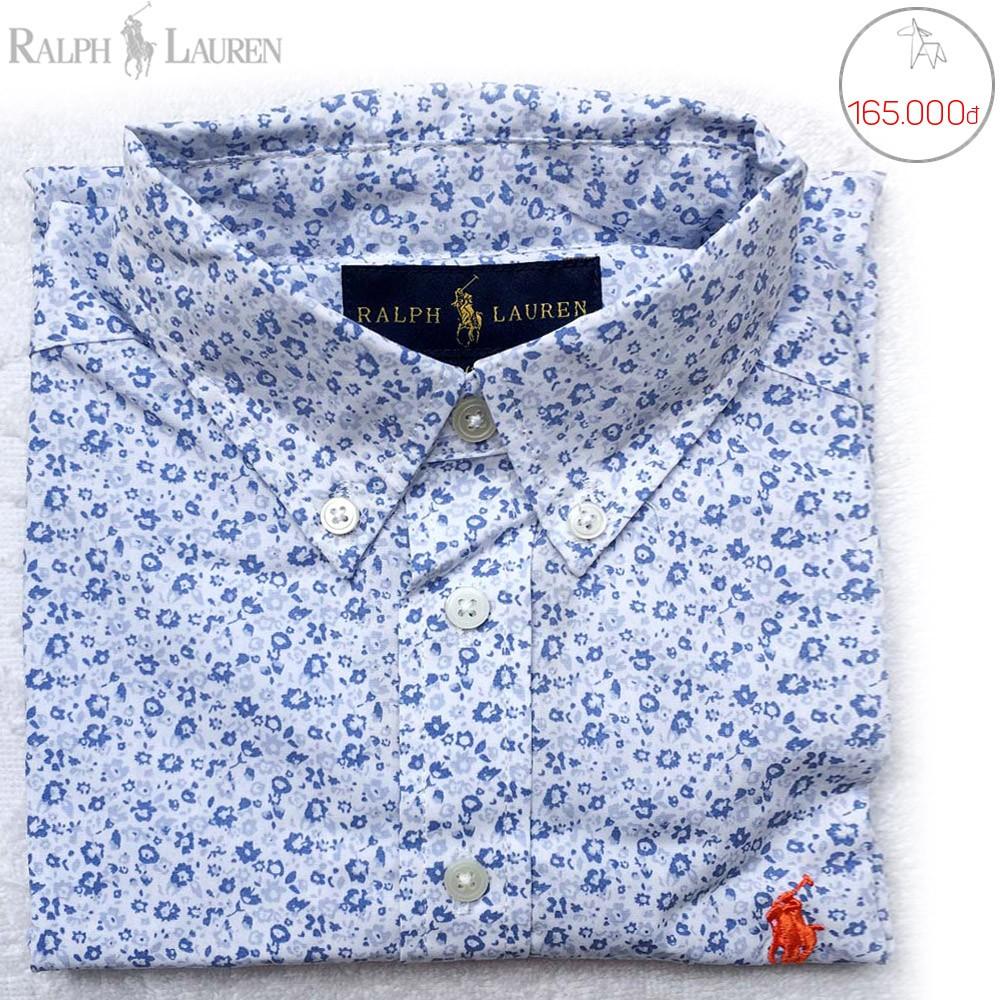Áo sơ-mi tay dài Polo Ralph Lauren bé trai _ 165k. Hàng XK, made in vietnam chuẩn xịn
