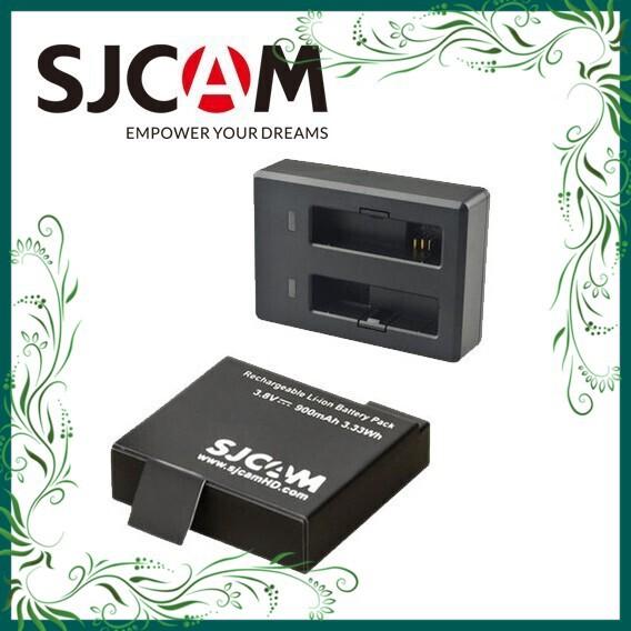 (Rẻ Tẹt Ga) Pin Sạc Cho Camera Hành Trình SJCAM SJ4000 - Hàng chính hãng