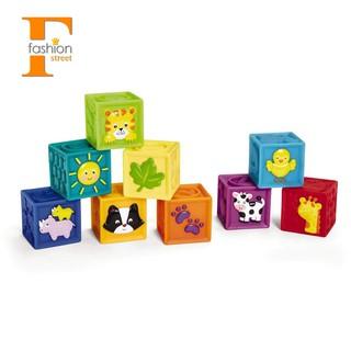 ☀FS SHOP☀ELP Gift bag, handbag, children's soft rubber blocks, toys