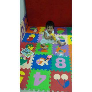 combo 10 tấm thảm ghép
