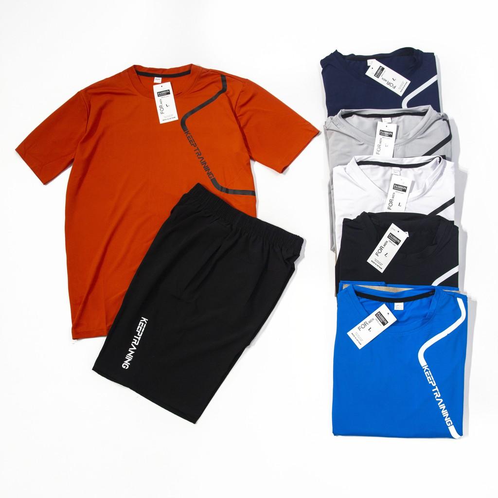 Quần áo thể thao đồ bộ nam mặc nhà mùa hè thun lạnh BTT13