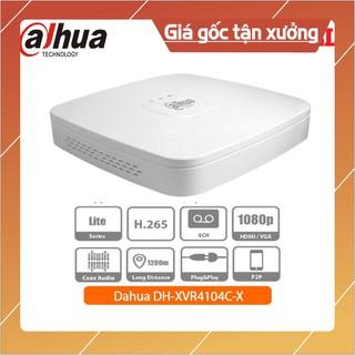[GRAB NOW SHIP 2H] {Giá Hủy Diệt} Đầu ghi hình camera HDCVI 4 kênh Dahua DH-XVR4104C-X1 – hàng chính hãng . CAM KẾT CHÍN