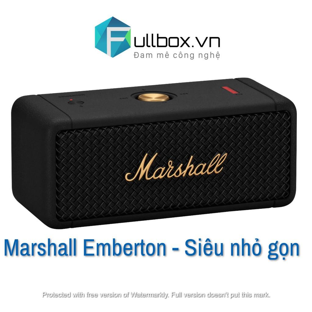 [Mã 267ELSALE1 giảm 5% đơn 3TR] Loa marshall emberton
