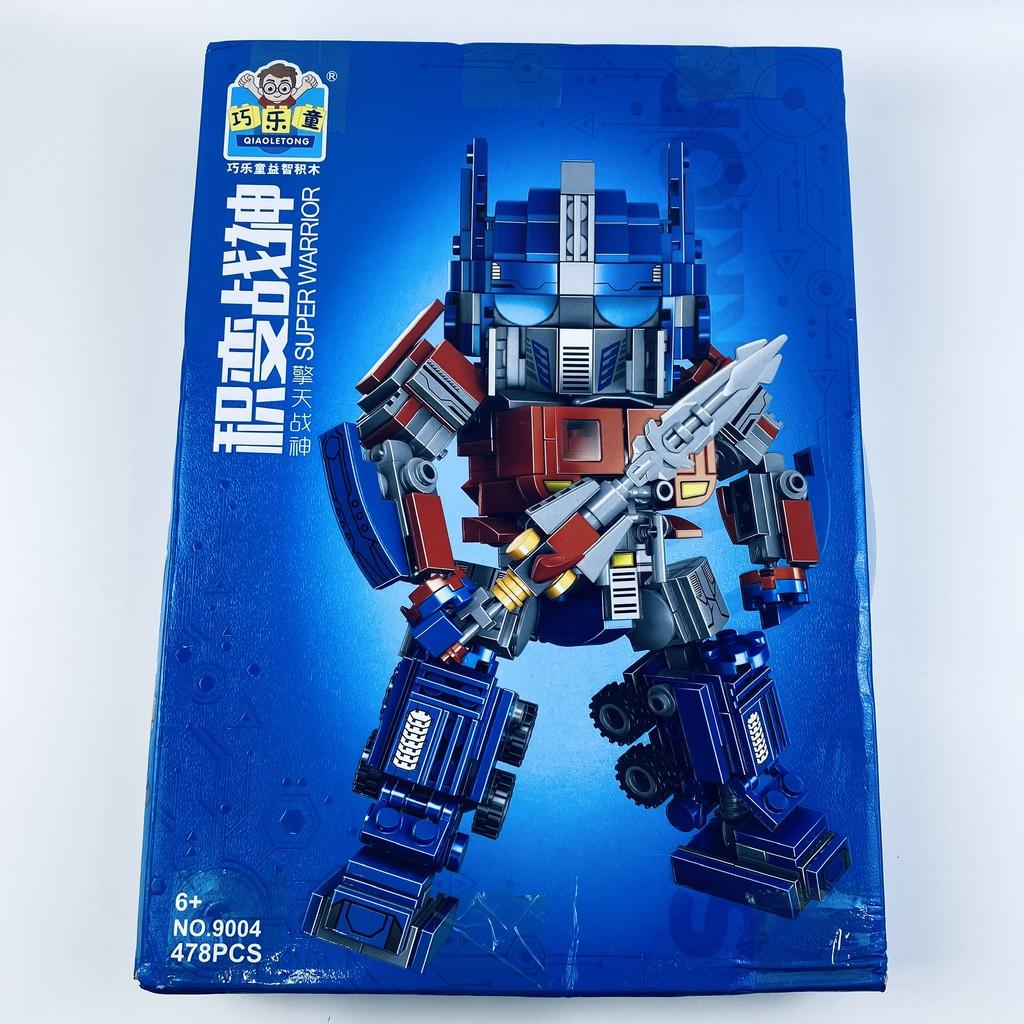478 CHI TIẾT-HÀNG CHUẨN] BỘ ĐỒ CHƠI XẾP HÌNH LEGO Transformer OPTIMUS PRIDE  - Lego Robot Biến Hình giá cạnh tranh