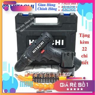 [Chính Hãng] Máy khoan pin Hitachi 12v – 2 Pin . .