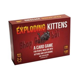 Bài mèo nổ cảm tử Exploding Kittens bản rẻ