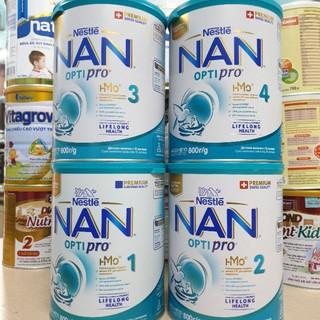 [Đóng thùng carton+Chèn xốp] Sữa Nan Nga đủ số 1,2,3,4 800g Date update mới nhất thumbnail