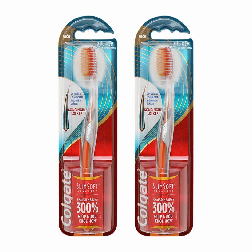 Bàn chải đánh răng Colgate siêu mềm, sạch sâu 300%