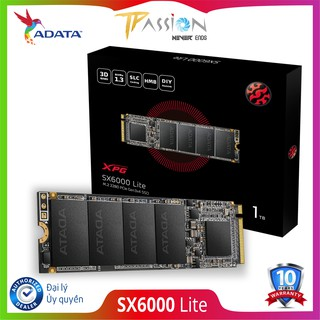 Ổ cứng SSD M.2 2280 NVMe ADATA XPG SX6000 Lite PCIE GEN3X4 - Bảo hành 120 tháng 1 đổi 1 chính hãng, tốc độ cao thumbnail