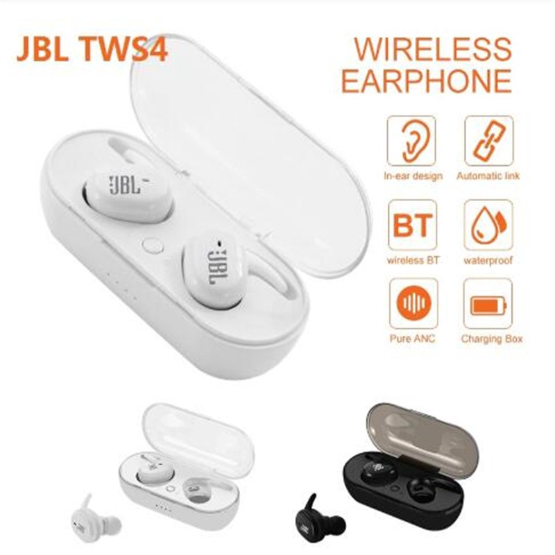 Tai nghe Bluetooth 5.0 Jbl Tws4 tích hợp micro mang lại trải nghiệm rảnh tay tiện dụng