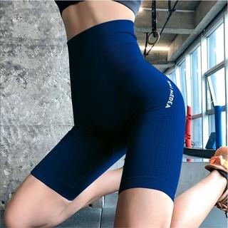 Quần lửng cạp cao, lưng cao ami vải dệt cao cấp |HTSPORT- MSQ02