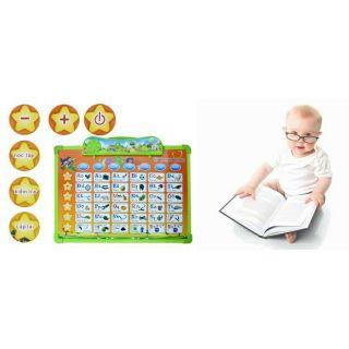 Bảng chữ cái điện tử tiện dụng cho các bé học tập – TẶNG KÈM PIN – BSN55 11 chủ đề