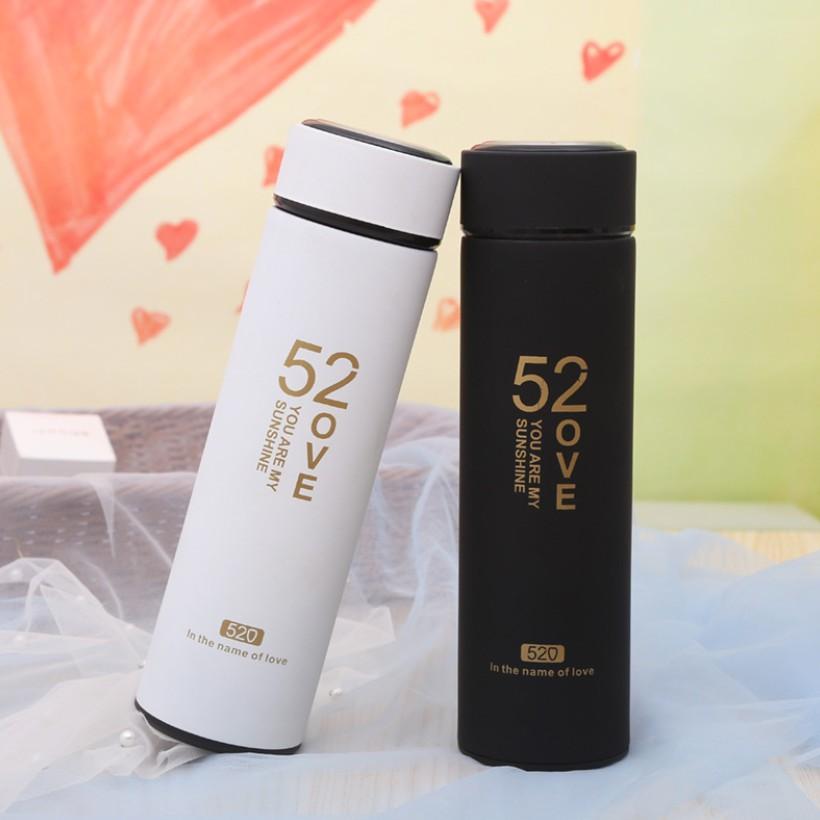 Bình Giữ Nhiệt Couple Chất Lượng Cao Ruột Inox 500ml