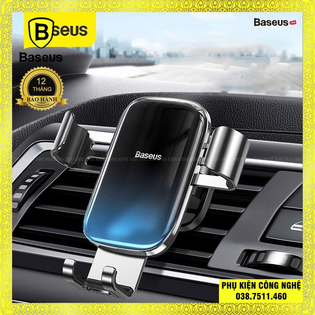Đế giữ điện thoại trên xe Ô Tô Baseus Glaze Gravity Car Mount ( Gắn khe gió mẫu mới 2020 )