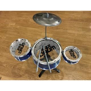 Bộ Trống Đồ Chơi Jazz Drum – Dàn 3 Trống – [7462]