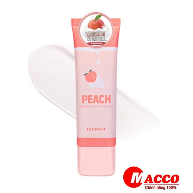 Kem Đào Coringco Peach Whipping Tone Up Cream Dưỡng Trắng Nâng Tone Da 50ml