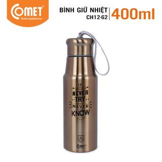 [Mã LIFECOMET05 giảm 10% tối đa 50K đơn 100K] Bình giữ nhiệt Utilities COMET CH12-62 (400ml)