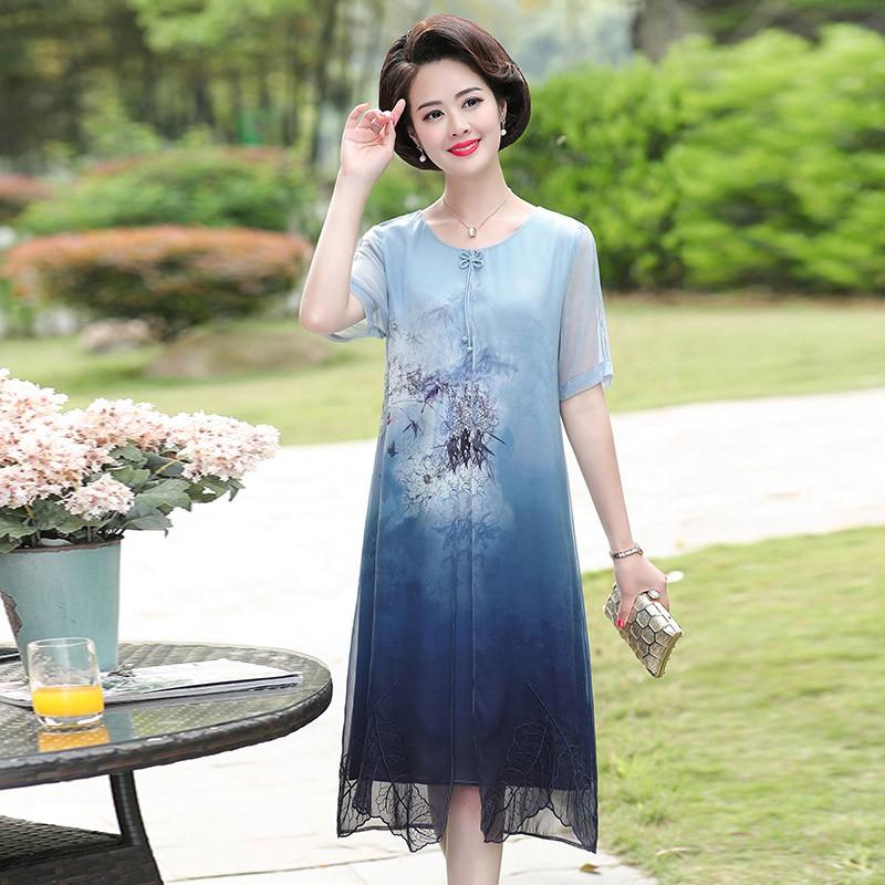 2772925218 - TTN008 đầm váy trung niên sang chảnh